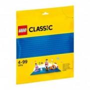 LEGO R Classic Placa de baza albastra 10714