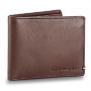 Portofel Mare pentru Bărbați TOMMY HILFIGER - Th Burnished Mini Cc Wallet AM0AM02656 254