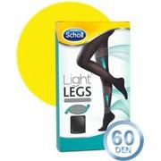 Scholl Light Legs Meias de Compressão 60DEN Cor Preta Tamanho XL
