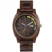 Мъжки дървен часовник WeWood Motus Chocolate, 70104-500