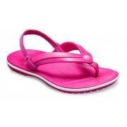 Crocs Crocband™ Strap TeenSlippers Kinder Candy Pink 25