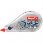 Corrector frontal Tipp-Ex Mini Pocket Mouse 5mm (a) x 6m (l)