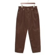【50%OFF】コーデュロイ カラーパンツ ブラウン 34 ファッション > メンズウエア~~パンツ