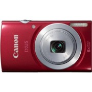 Canon IXUS 145 Digitale camera, 16 megapixels, 8 x optische zoom, 6,8 cm (2,6 inch) lcd-display, HD-ready, rood