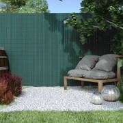 Jarolift Cañizo de PVC para Jardín, Listón 17mm de Ancho, PREMIUM, Verde, 90x500 cm