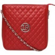 La Roma Women Pink Genuine Leather Sling Bag
