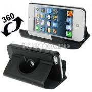 Husa iPhone 5, 5S, 5SE Sun R-360 Black