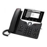Cisco Systems IP Phone 8811 - VoIP-telefoon - SIP, RTCP, RTP, SRTP, SDP - 5 regels - houtskool