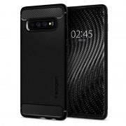 Carcasa Spigen Rugged Armor Samsung Galaxy S10 Plus Matte Black