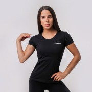 GymBeam Ženska majica Basic Black S