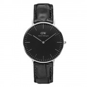 Daniel Wellington Classic Black Reading Damklocka 36mm, Silver