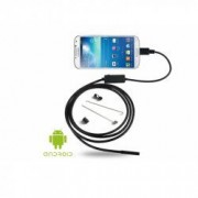 Camera endoscopica pentru Android and Pc 6 x LED USB Cablu 5 m Bonus Suport tip inel pentru