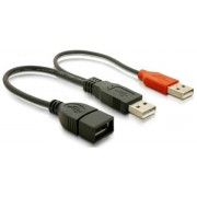 USB A/A Y Adat+Tap Delock 65306