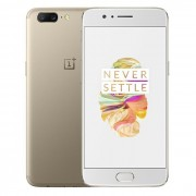 OnePlus 5 4G Phablet 5.5 pouces OxygenOS Snapdragon 835 Octa Core 2.45GHz 6GB RAM 64 Go ROM 16.0MP + 20.0MP Caméras Or