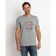 Gentlemen Selection T-Shirt mit Surf-Print