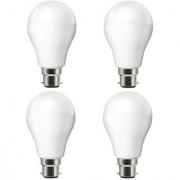 NIPSER 9 Watt LED Bulb Cool Day Light ( Pack of 4 )
