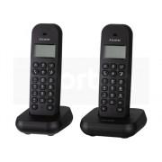 Alcatel Teléfono fijo ALCATEL E155 Duo Negro