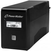 POWERWALKER Zasilacz UPS VI 850 LCD Schuko