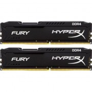 Memorie HyperX Fury Black 16GB, DDR4, 2400MHz, CL15, 1.2V, kit 2x8GB