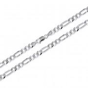 Brilio Silver Bratara argintie Figaro 22 cm 461 086 00168 04