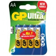 Gp Batteries Blister 4 Batterie AA Stilo GP Ultra Plus
