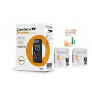 CareSens N Premier glucometru + 100 teste + 100 ace, testare rapida si precisa, bluetooth, nu necesita codare + CADOU gel respiri usor + CADOU gentuta colorata