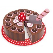 Le Toy Van Honeybake Wooden Chocolate Gateau