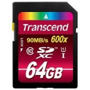SECURE DIGITAL CARD SDXC 64GB (Class 10), UHS-I, 600x TRANSCEND (TS64GSDXC10U1)