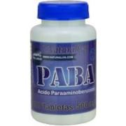 PABA Acido Paraaminobenzoico 100 Capsulas 500mg