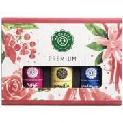 Woolzies Premium Essential Oil Set Of 3 Oils Rose Sandalwood Vanilla 10 ML each