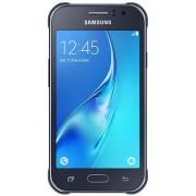 "Telefon Mobil Samsung Galaxy J1 Ace Neo, Procesor Quad-Core 1.5GHz, Super AMOLED Capacitive touchscreen 4.3"", 1GB RAM, 8GB Flash, 5MP, Wi-Fi, 4G, Dual Sim, Android (Negru) + Cartela SIM Orange PrePay, 6 euro credit, 4 GB internet 4G, 2,000 minute national"