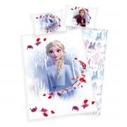 Lenjerie de pat copii, din bumbac, Frozen 2Believe journey, 100 x 135 cm, 40 x 60 cm