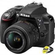 Nikon d3300 dig af-p 18-55mm vr kit crni set