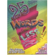25 Words Or Less Board Game Second Edition 2000 Copyright by Winning Moves Games