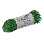 Raffia 50gr smaragd groen