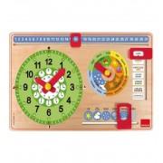 Reloj Calendario Castellano - Diset