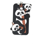 Oytra 3D Design Printed Soft Silicone Mobile Phone Covers & Cases For Samsung J2 (2017)/Galaxy J2 (2017), Black Kung Fu Panda