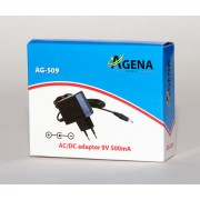 Adapter Agena Energy AG509 9V 500mA AC DC
