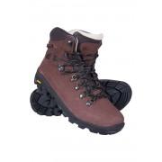 Mountain Warehouse Wodoodporne buty skórzane Excalibur - Brown 43