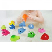 Click N' Play Assorted Colorful Squirter Bath Toys (12-Pack)