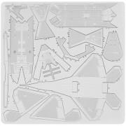 ER Metal 3D Auto Construir Aviones De Combate En Miniatura De Bricolaje Edificio Modelo Puzzle Toy