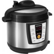 REDMOND RMC-PM4506E, Digital pressure smart multicooker Slow Cooker, Deep Fryer, Food Steamer, Rice Cooker(5 L, Black)