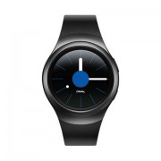 """Samsung Smartwatch Samsung Galaxy Gear S2 Sm R720 1.2"""" Full Circular Super Amoled 4 Gb Wifi Nfc Bluetooth Refurbished Dark Gray"""