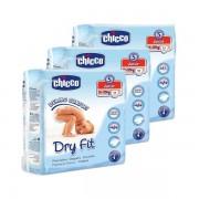 Pañales Chicco Dry Fit Junior Talla 5, de 12 a 25 kg. - 51 unidades