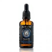Azbane Pečující olej na vousy s arganovým olejem Hřebíček a šalvěj (Beard Oil) 30 ml