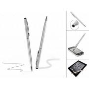 Stylus Pen met Balpen | Handige 2 in 1 Stylus Touch Pen | Zilver