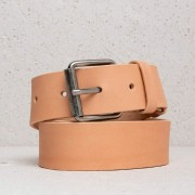 Nudie Jeans Pedersson Leather Belt Natural