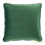 Perna decorativa din catifea verde Roche, 60x60cm 112031 HZ