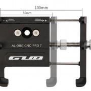 Suport de telefon universal GUB PRO 7 pentru trotinete electrice, biciclete, motociclete