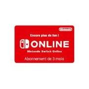 Nintendo eShop Nintendo Switch Online 3 Mois